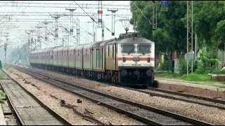 [11 in 1] Morning High Speed Trains : Gatimaan + Bhopal Shatabdi + Mumbai Rajdhani and many more