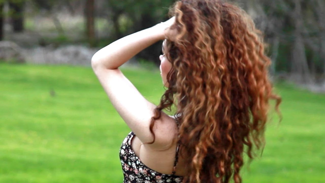 How To Style Curly Hair Wet To Dry Routine Youtube