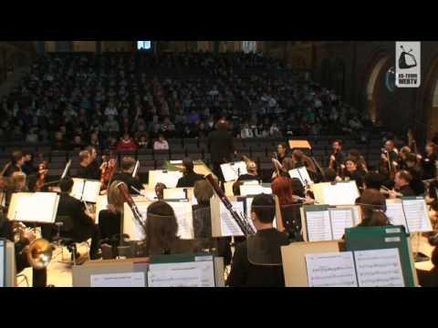 Stefans Musikworkshop als Schulkonzert in der Konzertkirche Neubrandenburg