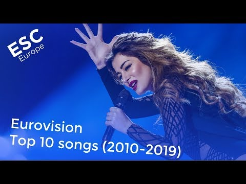 Eurovision - Top 10 songs (2010-2019)