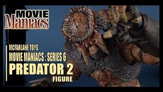 Toy Spot | McFarlane Toys Movie Maniacs Series 6 Predator 2 Predator Figure