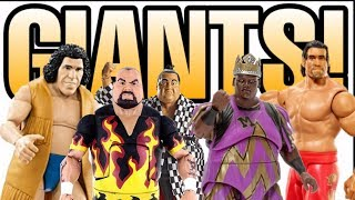 GIANTS!!! WWE Action Figures From Mattel