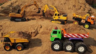 Toy Cars For Kids | Excavator Wheel Loader Dump Truck Construction Vehicles Toys For Children