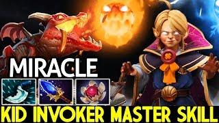 Miracle- [Invoker] New Invoker Hero Persona Master Skill Pro Gameplay MMR Dota 2
