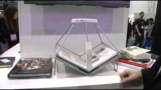 CES 2011 - Make your own ebooks with Book Saver