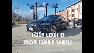 2019 Lexus ES review from Family Wheels