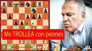 HaHaHa! Topalov hace de TROLL a Kasparov o sea le Trollea