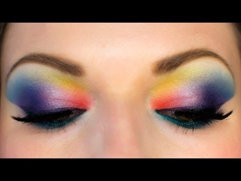 OMGWTF COLOR! Drugstore Makeup Tutorial