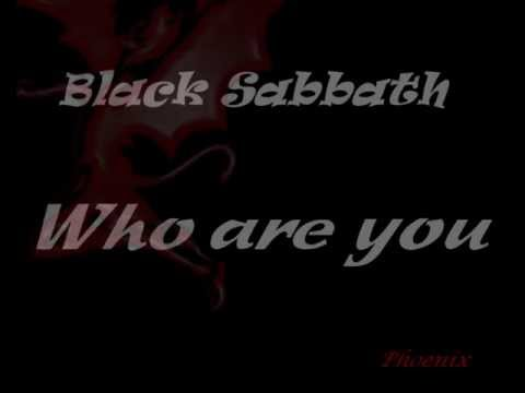 Black Sabbath - Who Are You