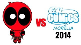 Deadpool vs ConComics Morelia 2014