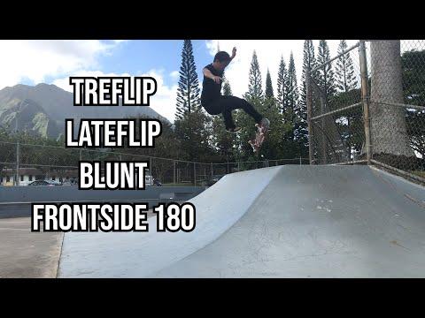 Treflip Lateflip Blunt Frontside 180 - Jason Park
