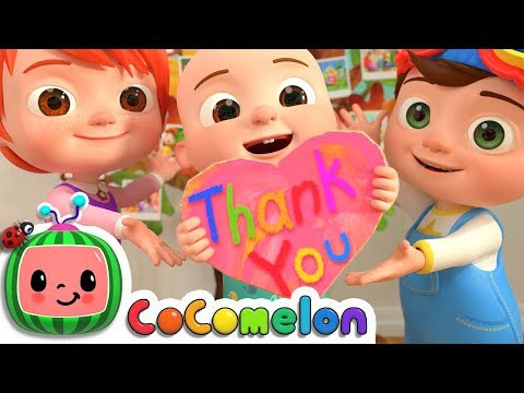 Thank You Song | CoCoMelon Nursery Rhymes