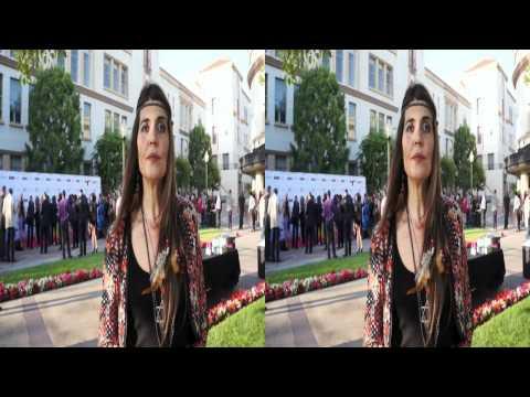 Regina Nemni interview at eWorld Music Awards in 3D
