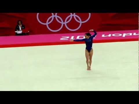 Beth Tweddle   FX   Team Final Olympics 2012