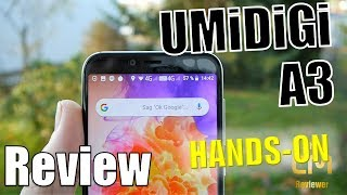 Umidigi A3 Test: The best of Budget Smartphone? Budget mit Niveau - Hands-on (Deutsch, engl. hints)