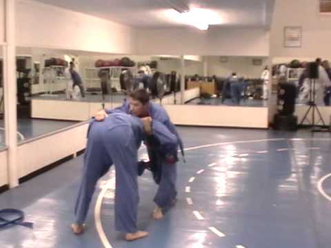 BJJ Techniques: Gracie Barra Idaho Students practicing Judo Throw Image 1