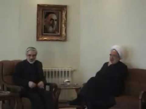 Iran Tehran Mousavi Meets Karoubi Jan 30th 10 Bahman
