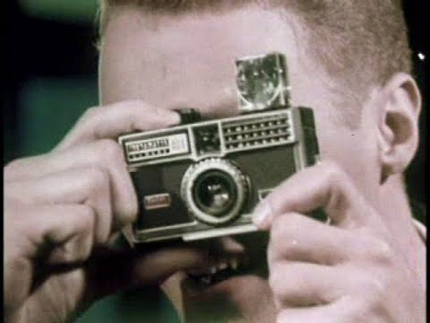 Thumbnail of video Kodak Instamatic Flash Cubes -  1960's