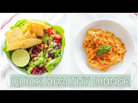 QUICK Healthy Dinner Ideas | Healthy Dinner Recipes