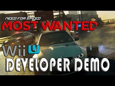 Need for Speed: Most Wanted Wii U Demo