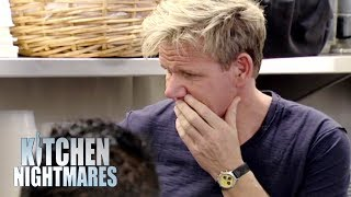 Owner Defends Using Canned Crab In San Francisco | Kitchen Nightmares