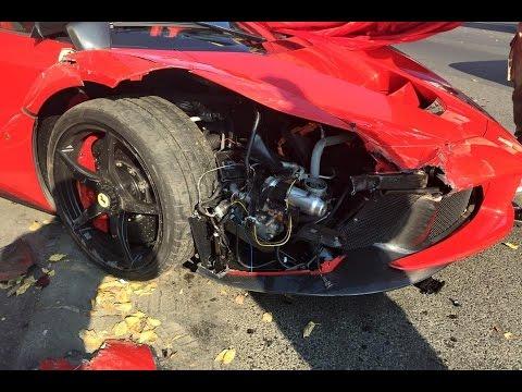 LaFerrari crash @ Budapest, Hungary