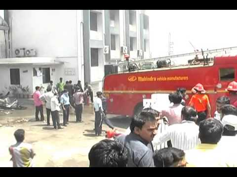 Major Fire to Plastic Manufacturing company