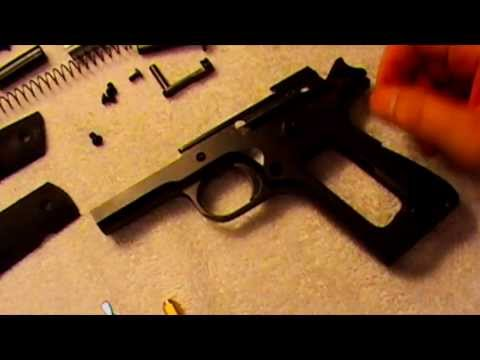 1911A1 Disassembly Trigger Polish & Reassembly of Norinco Pistol
