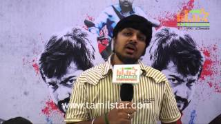 Karthik Acharya At Masala Movie Audio Launch