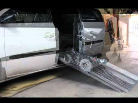 Rampa para sillas de ruedas youtube - Ruedas para muebles ...