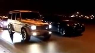 Mercedes G klasse vs BMW X6