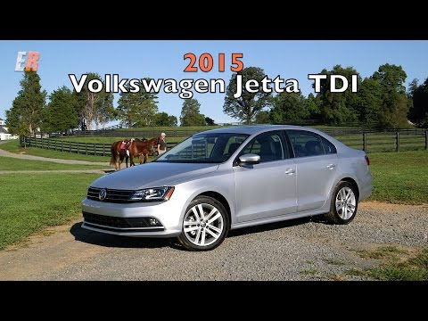 2015 VW Jetta TDI Test Drive Review