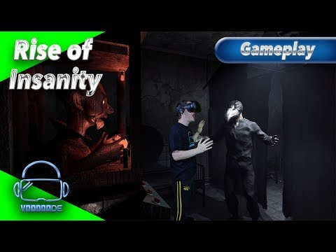 Rise of Insanity - Horror pur [mit Live Herzfrequenz][Let's Play][Gameplay][Vive][Virtual Reality]
