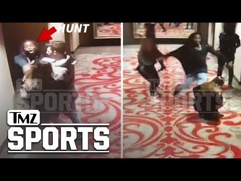 KC Chiefs Running Back Kareem Hunt Brutalizes and Kicks Woman in Hotel Video | TMZ Sports