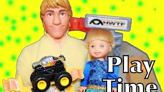 Frozen Kristoff Toby Competition Disney Barbie Parody Monster Truck Jam Hot Wheels AllToyCollector