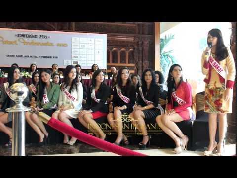 Perkenalan Diri Finalis Puteri Indonesia 2015
