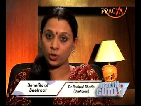 Benefits of Beetroot - Health Benefits - Health Tips By Dr. Rashmi Bhatia(Dietitian)