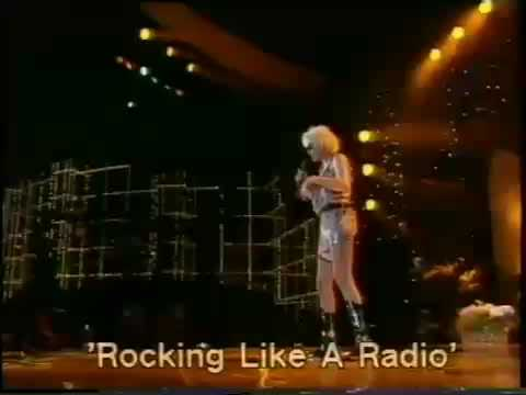 BRIGITTE NIELSEN sings Rockin' Like A Radio