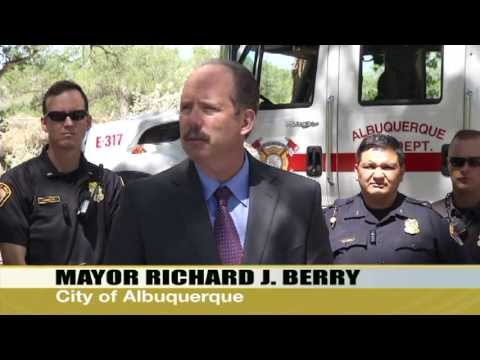Mayor Richard J. Berry, City of Albuquerque    News Conference 5-21-13