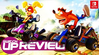 Crash Team Racing: Nitro-Fueled Switch Review - THE DRIFT KING!