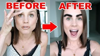 GETTING MY EYEBROWS TATTOOED! **MICROBLADING**