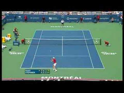 Radek Stepanek Play of the week!! Video