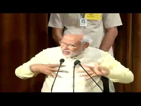 Shri Narendra Modi addressing International Conference on Indian Economy in Delhi