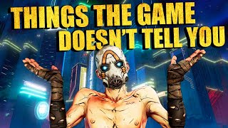 Borderlands 3: 10 Things The Game Doesn't Tell You
