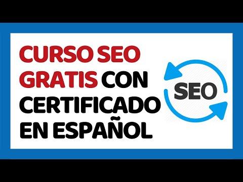 Curso de SEO Gratis con Certificado 2017