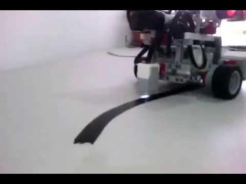 Sensor De Color Robot Sigue Lineas Con Lego EV3