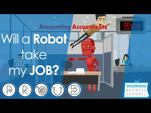 Will a Robot take my Job? Broomhead Business Channel explores the answer