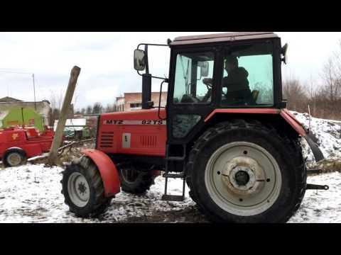 Трактор МТЗ 82 ТS. Экспортный вариант!