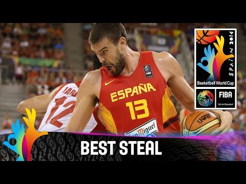 Iran  v Spain - Best Steal - 2014 FIBA Basketball World Cup