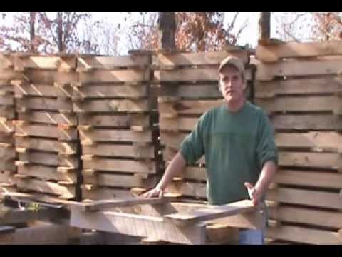 Introduction to reclaiming pallet wood